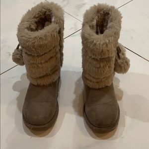 Makalu Boots / faux fur